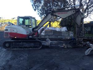 Rock Breaking — Wakeford Contractors