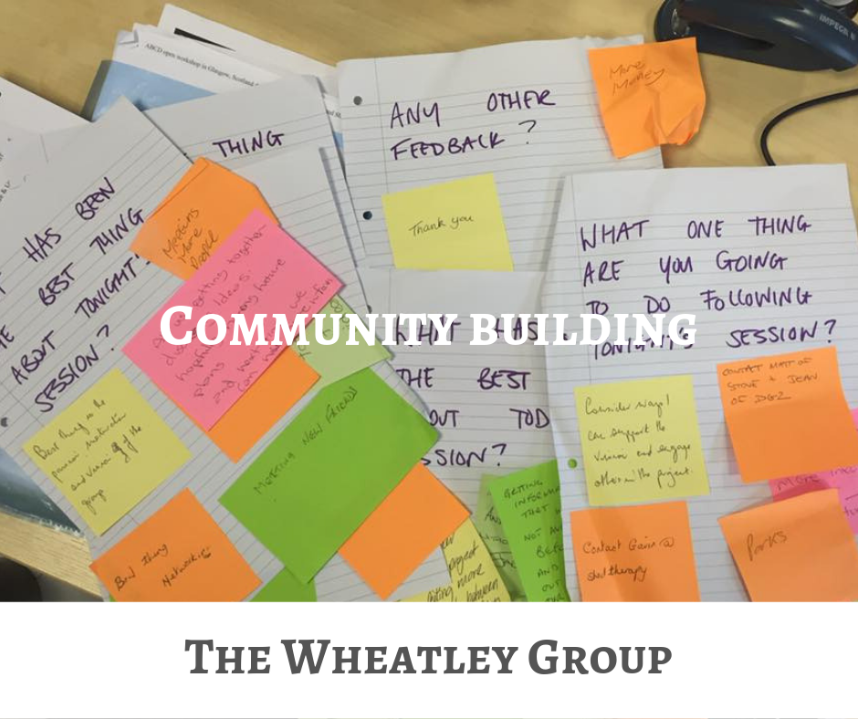 The Wheatley group community building