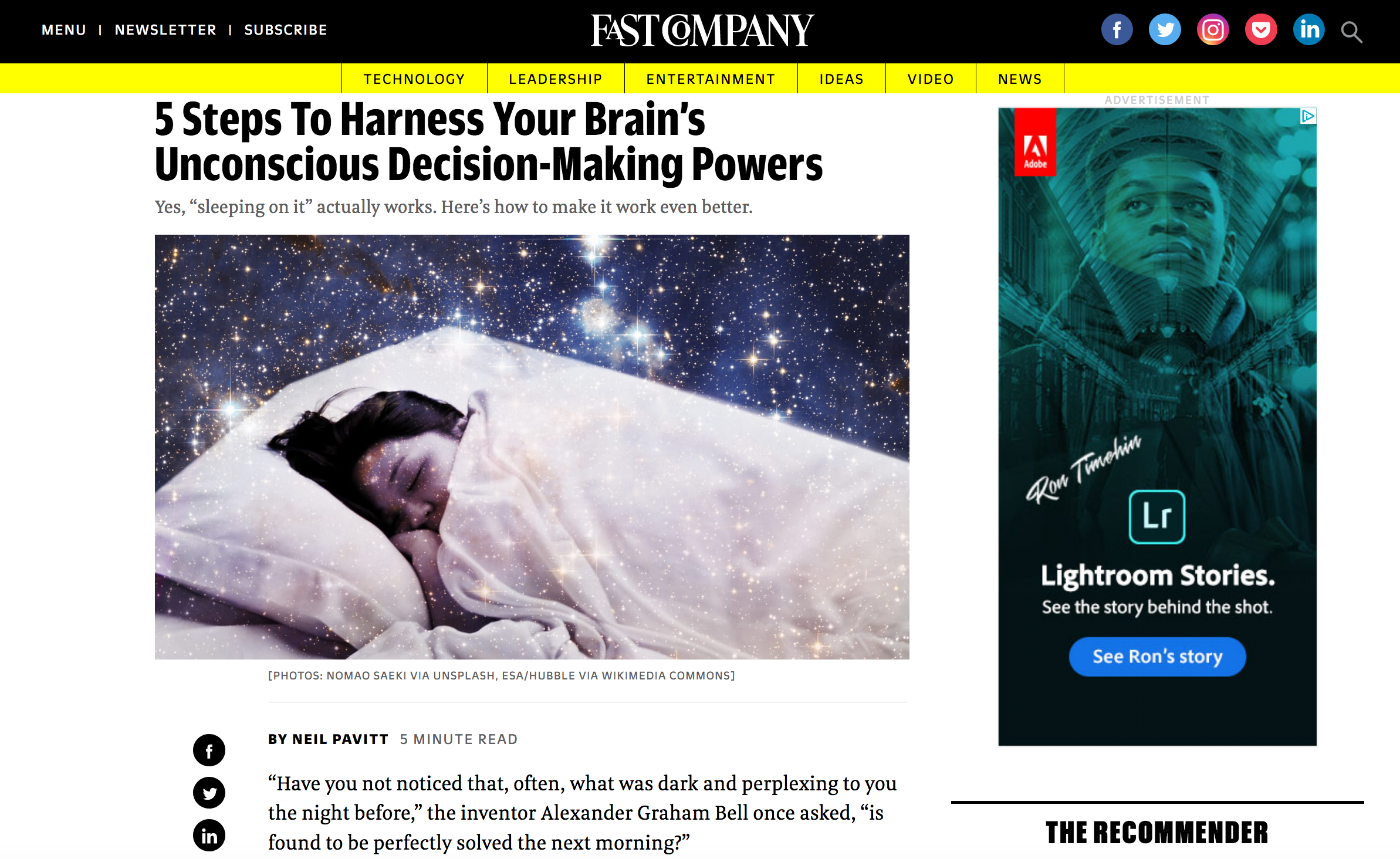 5 steps to harness your brain's unconscious decision-making powers