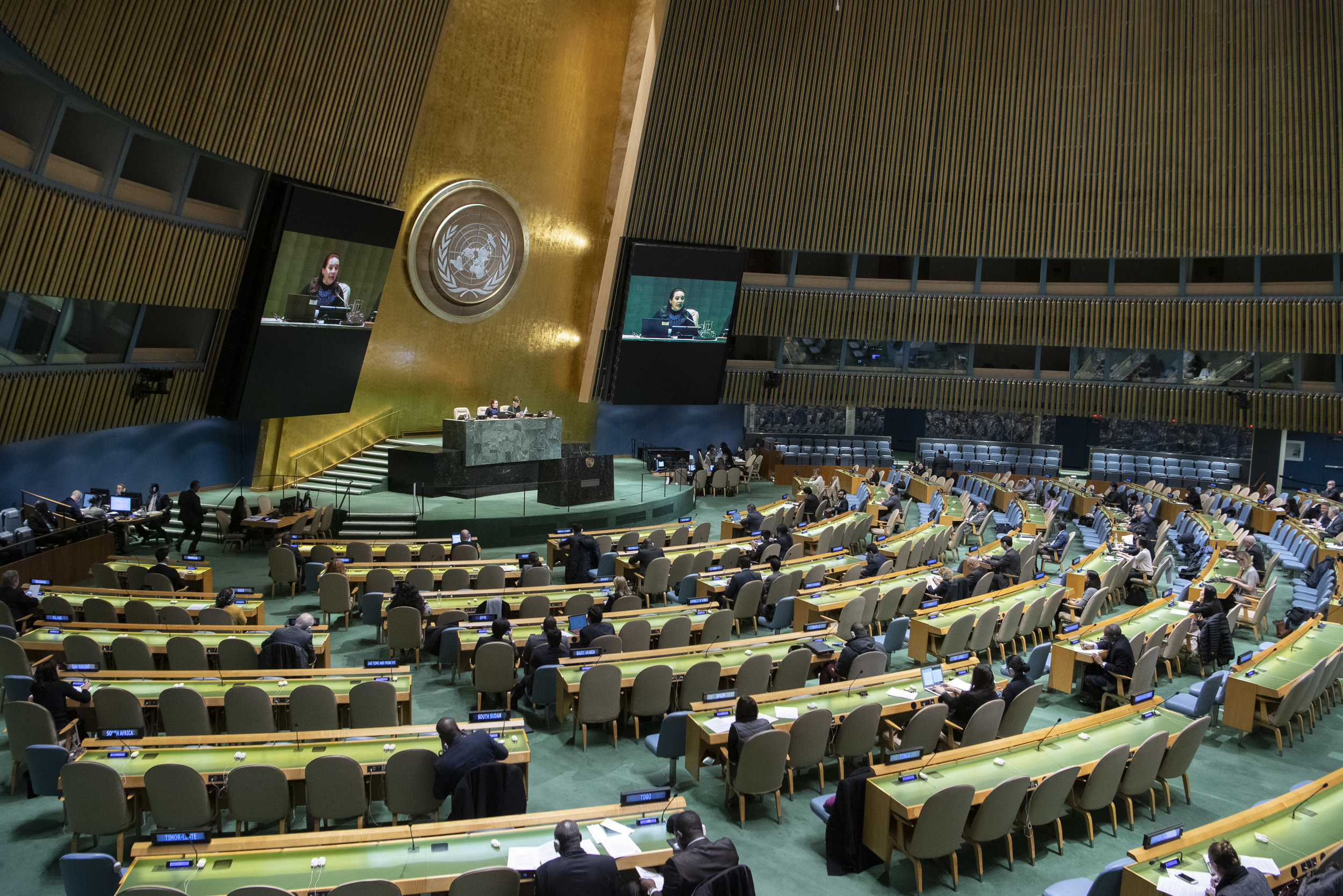 Maailman 38.000 Kansainvälisestä organisaatiosta YK on edelleen yksi keskeisimmistä. Kuva: UN Photo by Eskinder Debebe