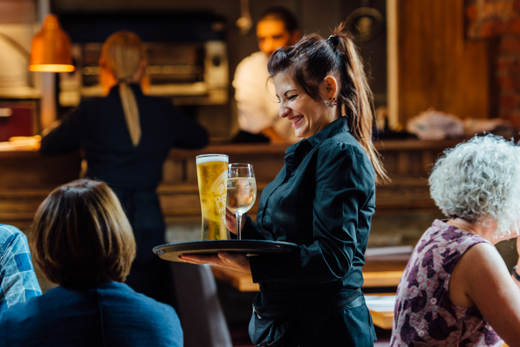 Pub and restaurant career opportunities at The Lost Boy in Farnham, part of Oakman Inns