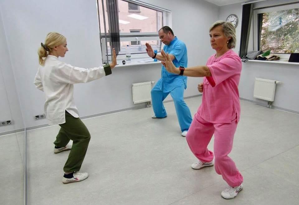 Оздоровительная гимнастика Цигун в нашей клинике