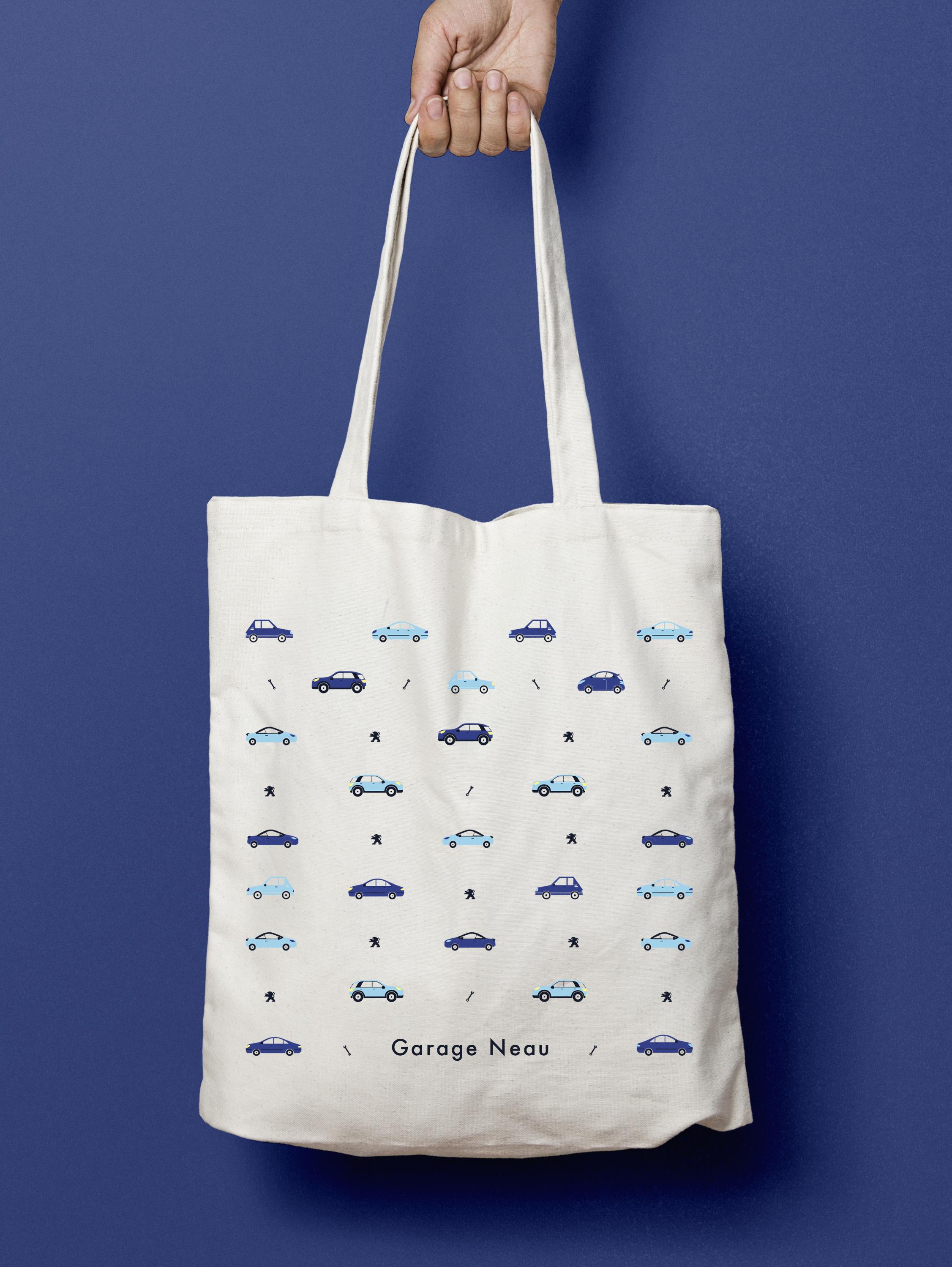 Tote Bag  Garage Neau Peugeot