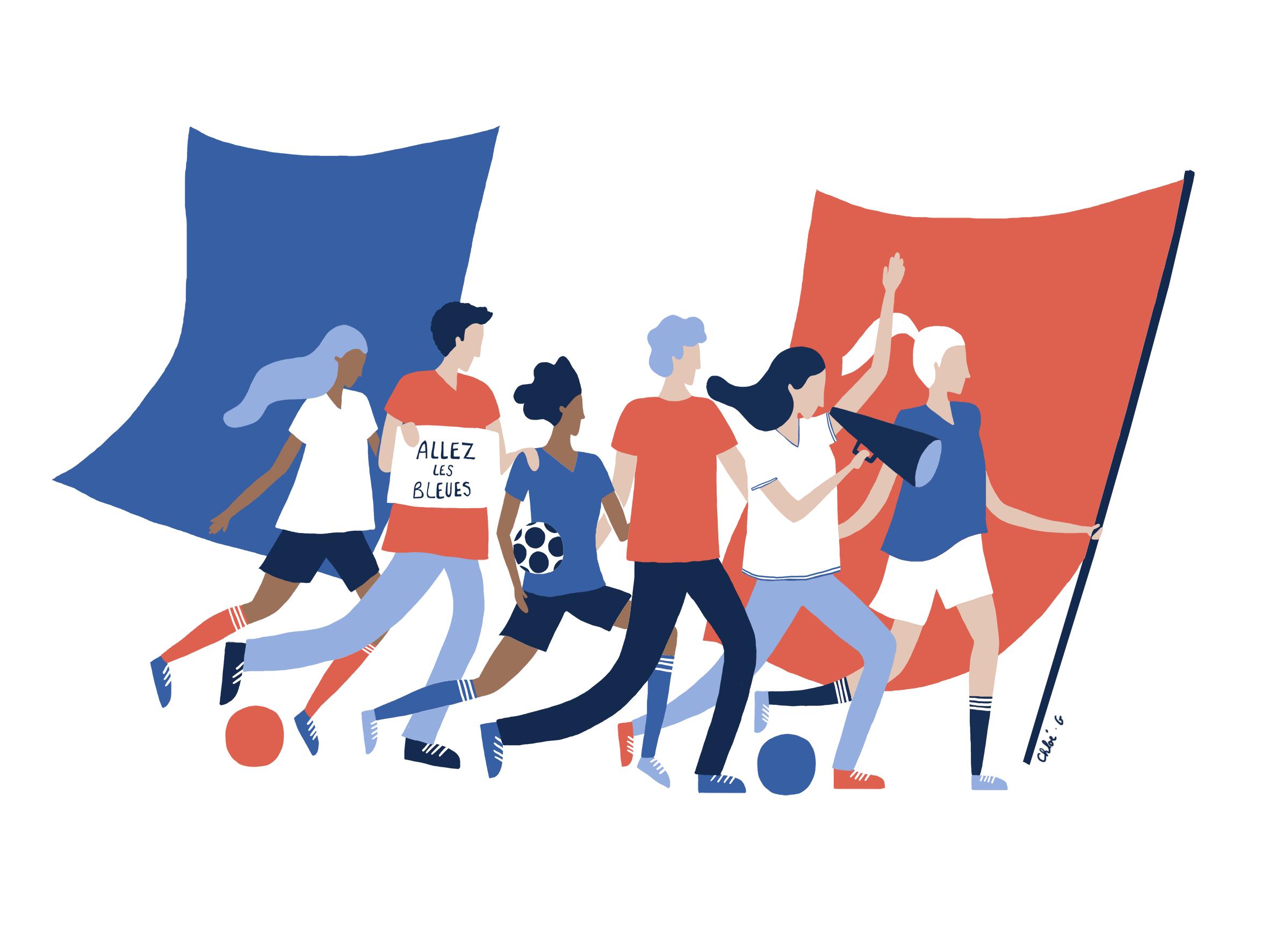 Coupe du monde féminine  Fédération Française de Football