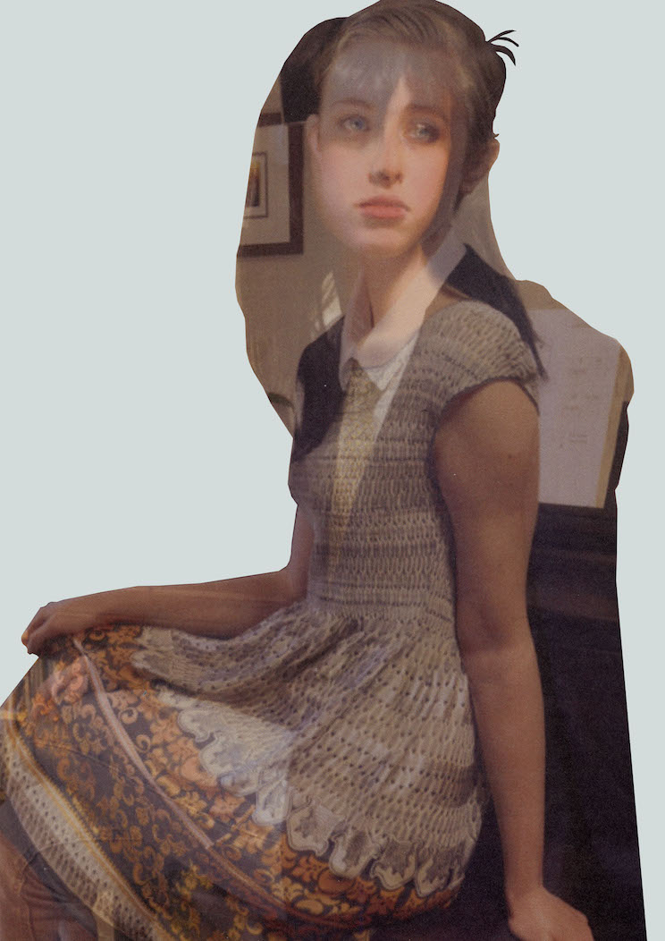 The students, using the techniques of layering and collage, produced ambiguous/androgynous images that embody failing and resisting gendered norms.