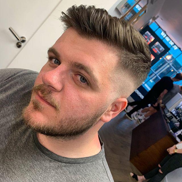 Fresh fade 💯  #barber #barbering #barbershop #skinfade #fade #menshair