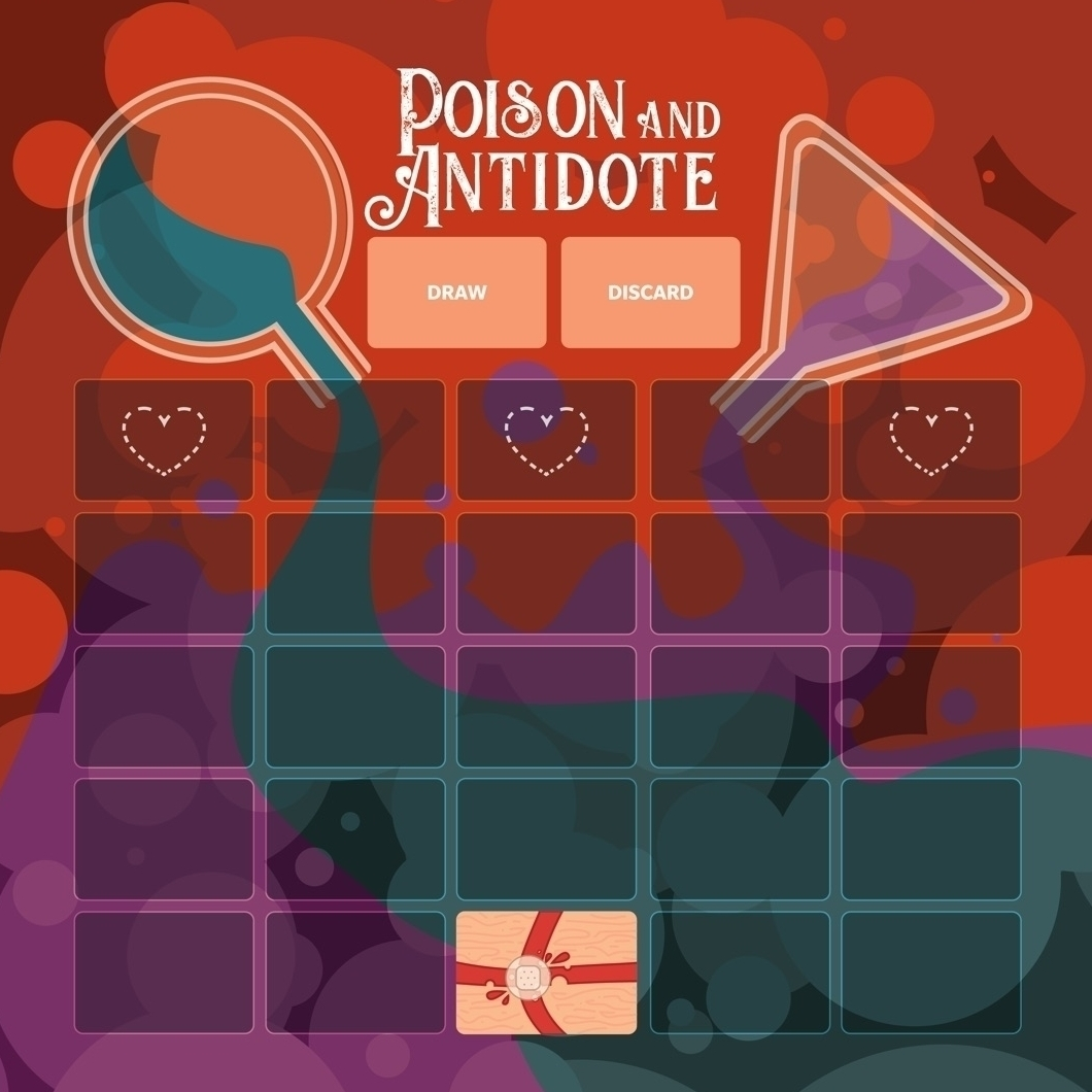 Poison and Antidote Board Game