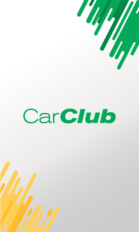 Car Club App Mock up -Splash