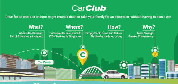 Car Club Flyer Infographic