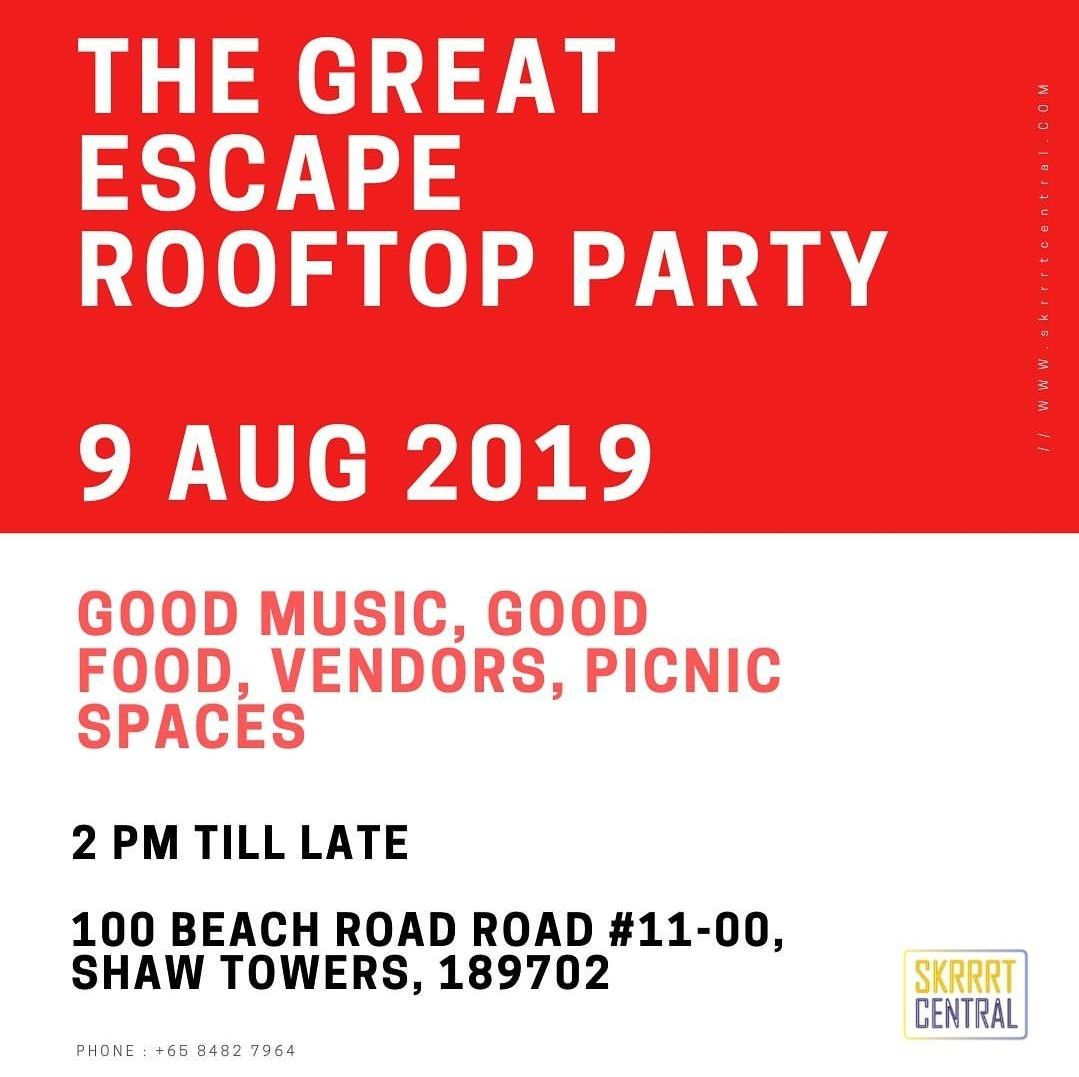 THE GREAT ESCAPE, Rooftop Party