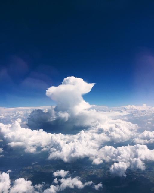A Growing Cumulonimbus