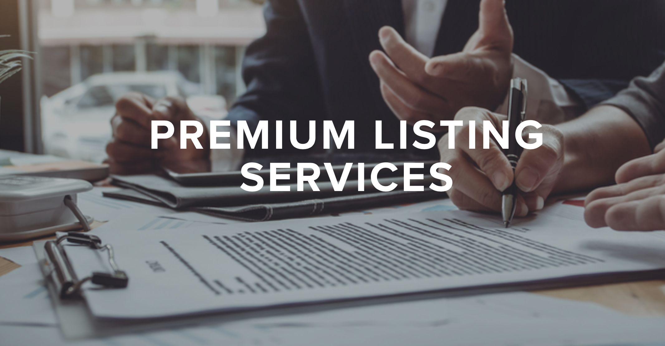 Listing Services Site - Use this to share with your clients what you'll do differently than all the rest.