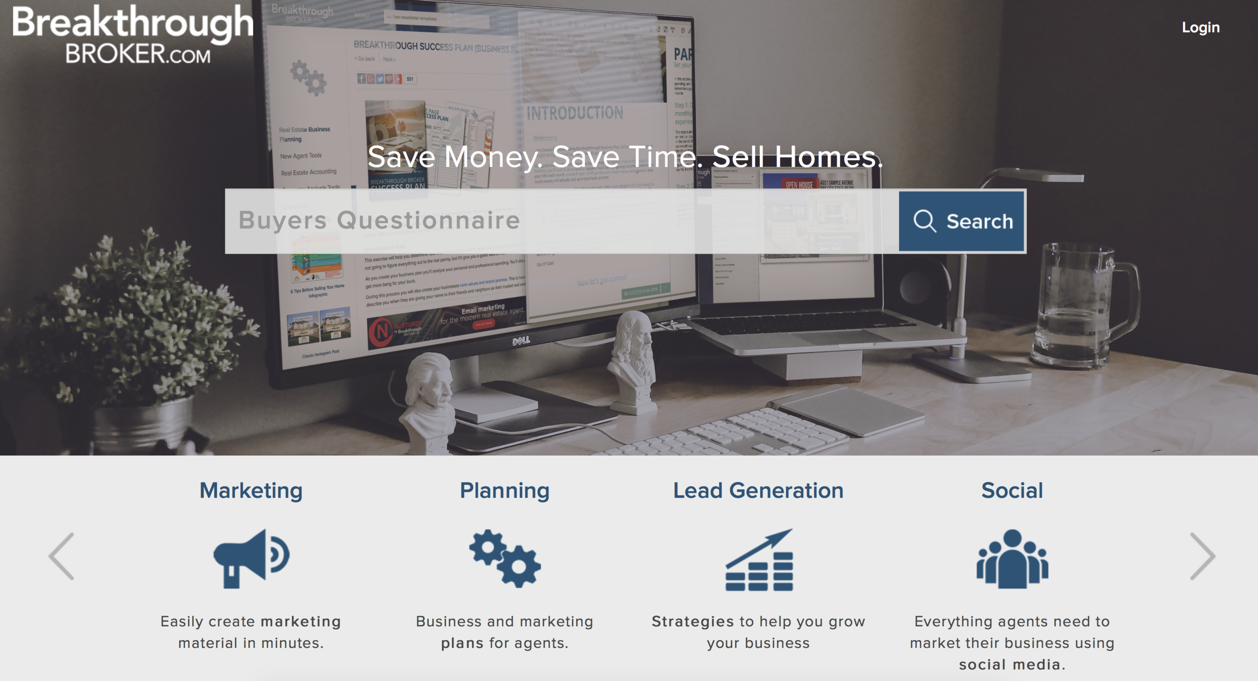 Break Through Broker - Great free material for marketing and ideas in real estate