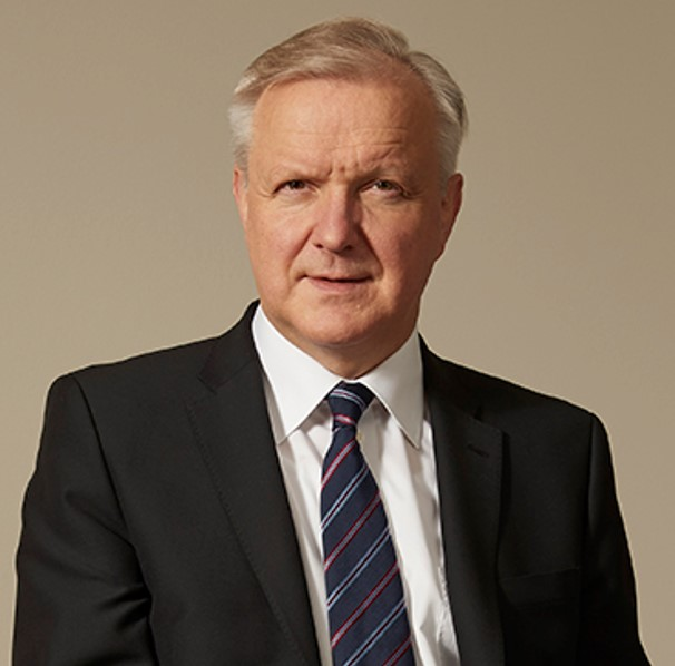 Ollie Rehn   Governor,  Bank of Finland ; Member, Governing Council,  European Central Bank   Dr Olli Rehn is Governor of the Bank of Finland. He has been Governor and Chairman of the Board as of 12 July 2018. Governor Rehn is responsible for monetary policy preparation, domestic economic policy, external communications, international affairs and internal audit. Governor Rehn is a member of the Governing Council of the ECB.