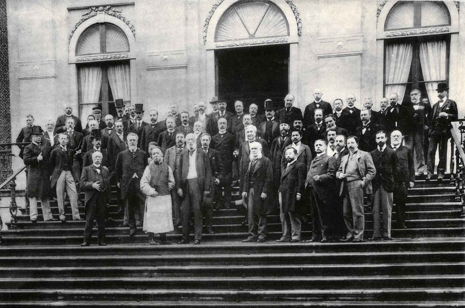 Delegates of first Hague Peace Conference, 1899 Huis Ten Bosch