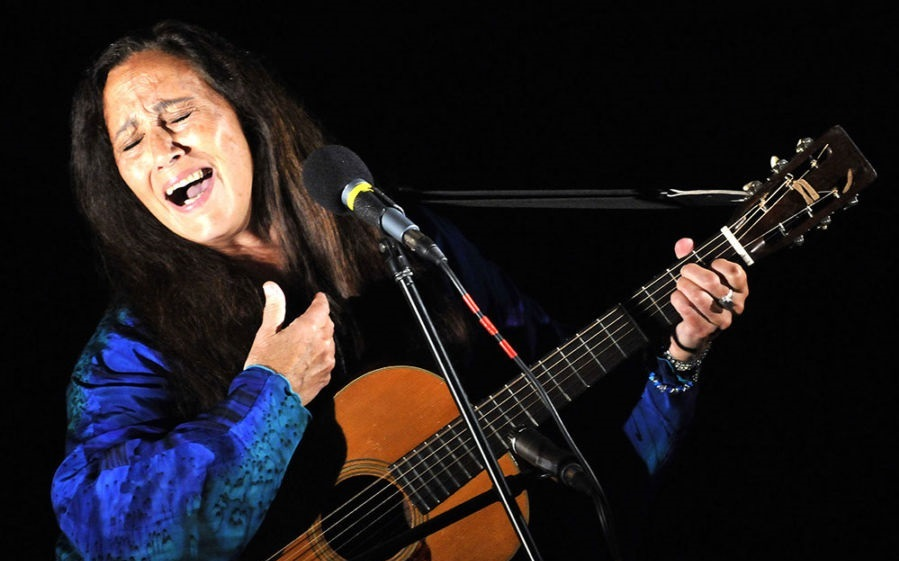 JULIE FELIX...Shelter From The Storm acoustic stage at 6.35pm.