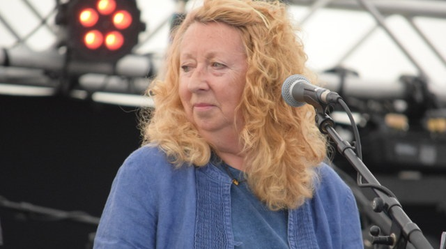 Jacqui McShee, another 69 returnee, brought her latest Pentangle line-up's inimitable folk-rock style to the Bash.