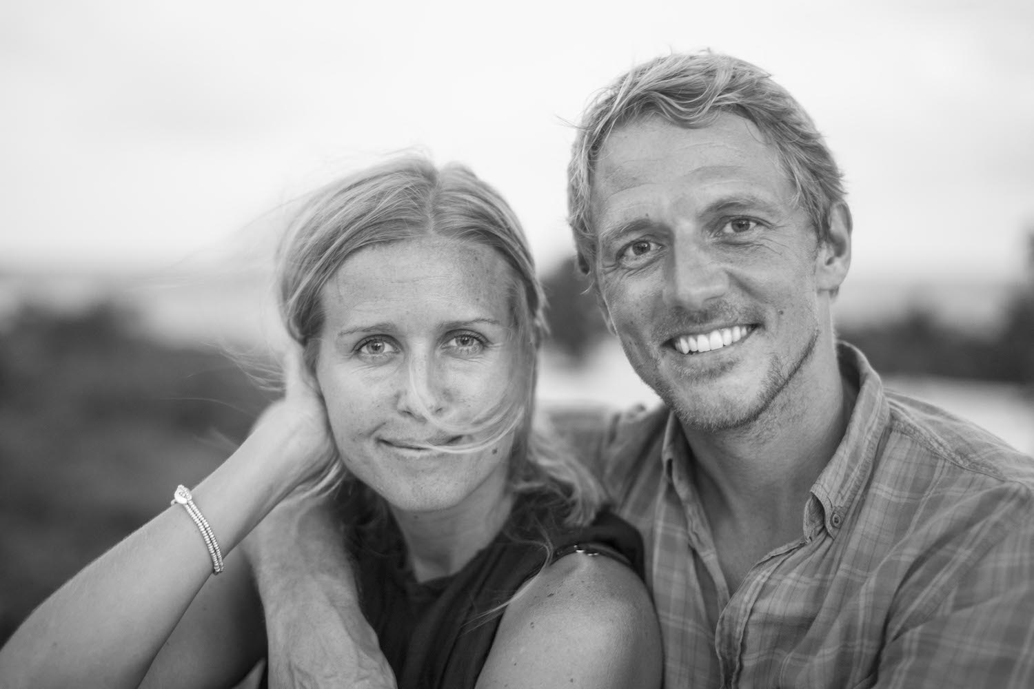 Ida Trygg-Andersson and Filip Andersson