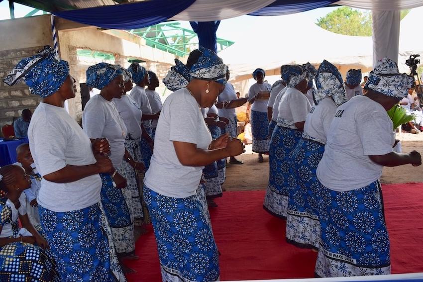 TBA:s celebrating Kinondo Kwetu Medical center's 10 years anniversary