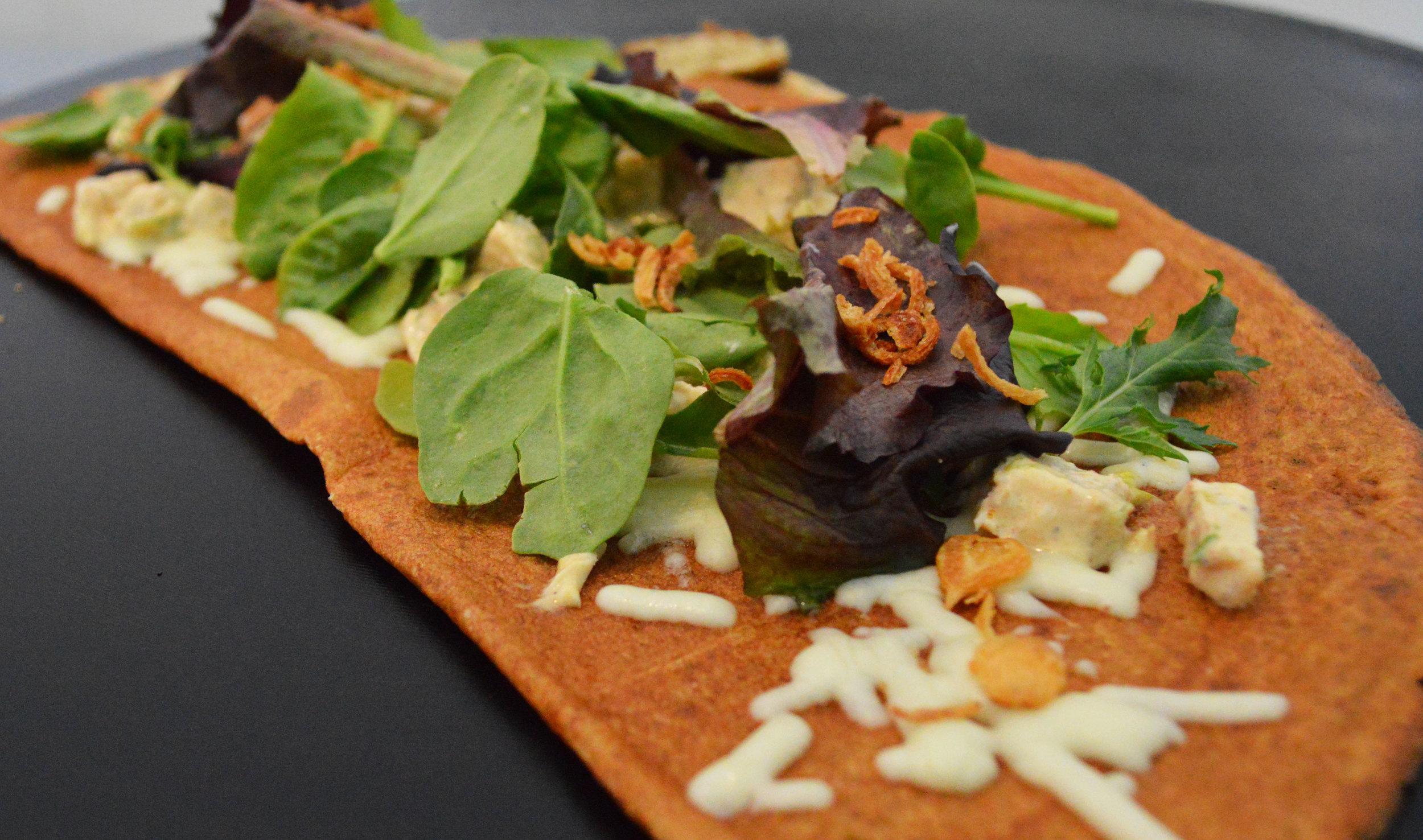 Chicken Salad Crepe
