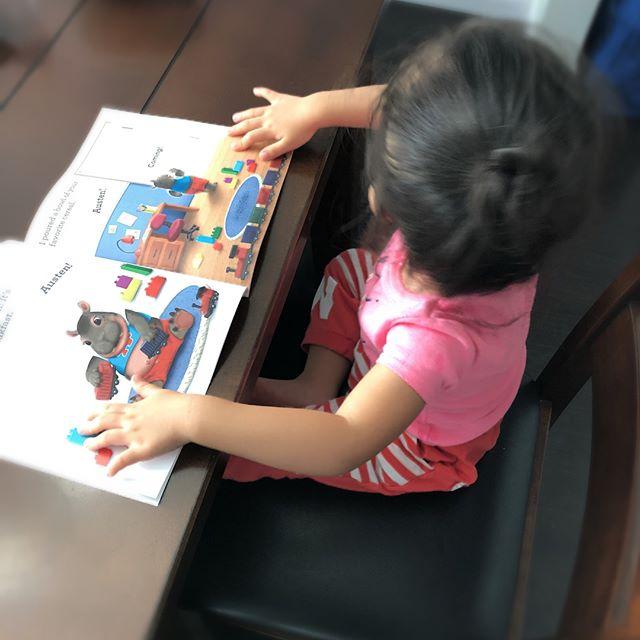 Hana received her book today!! #allkids #toodlers#autism #autismawareness #socialworker #bcba#speechtherapy #educators