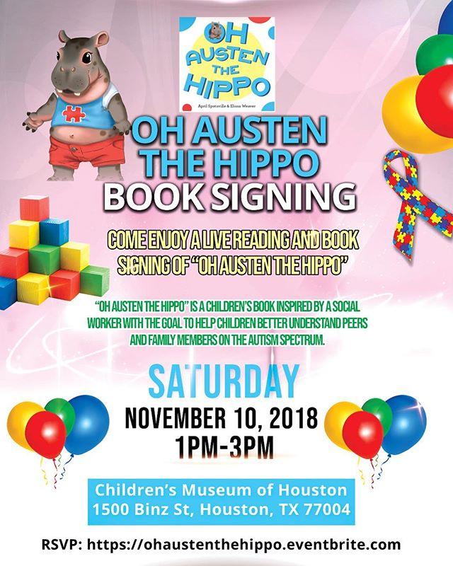 Mark your calendar!! And get your copy!!😊 #autism #autismmom #childrensbooks#autismdad #autismfamily #autismacceptance #speechtherapy#socialworker #socialmediamarketing #houston #texasmedicalcenter #education