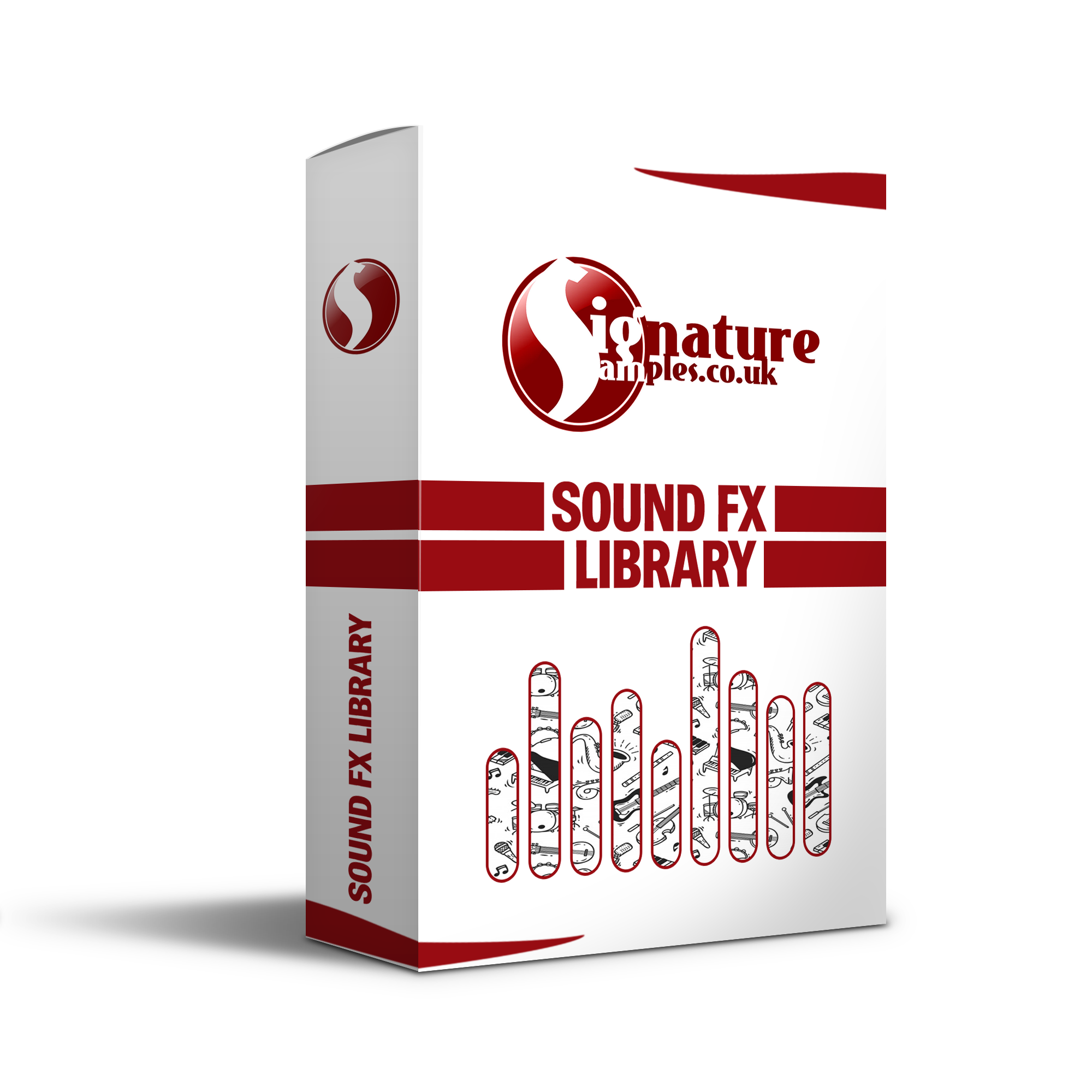 Sound FX Library - £1.89 - Sound FX library filled with high quality sound FX that could be used for .a variety of different situations. Music production, TV, Film or game design. Fx covering a wide range of different scenarios can be found within this pack.
