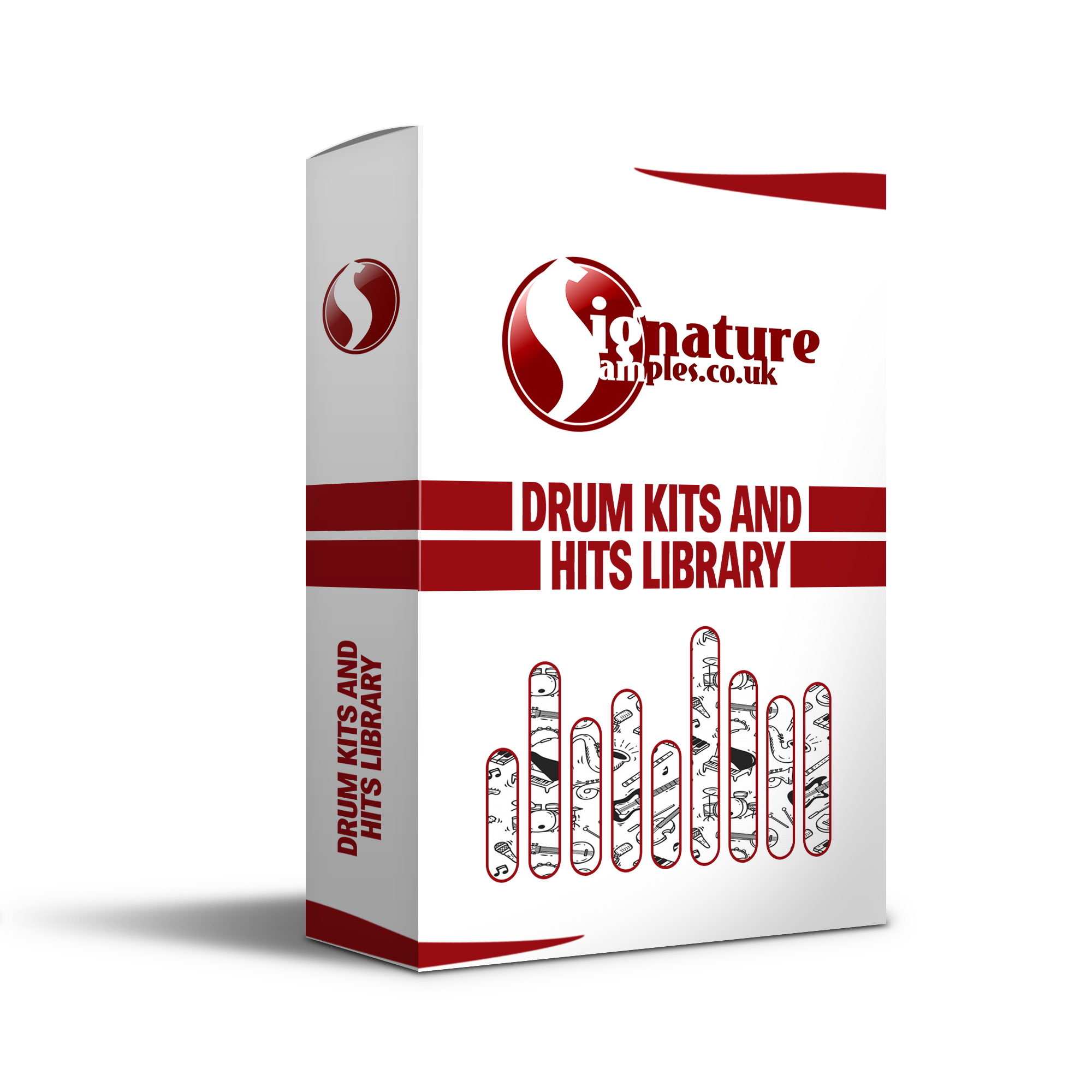 Drum Hits, Kits And Loops Library - £2.69 - A collection of all the drum one shots and kits I have created. From organic crunchy sounding drum hits to metallic or porcelain one shots. This pack is rammed full of original drum one shots and loop that will be sure to give your music the unique edge above everyone else's.