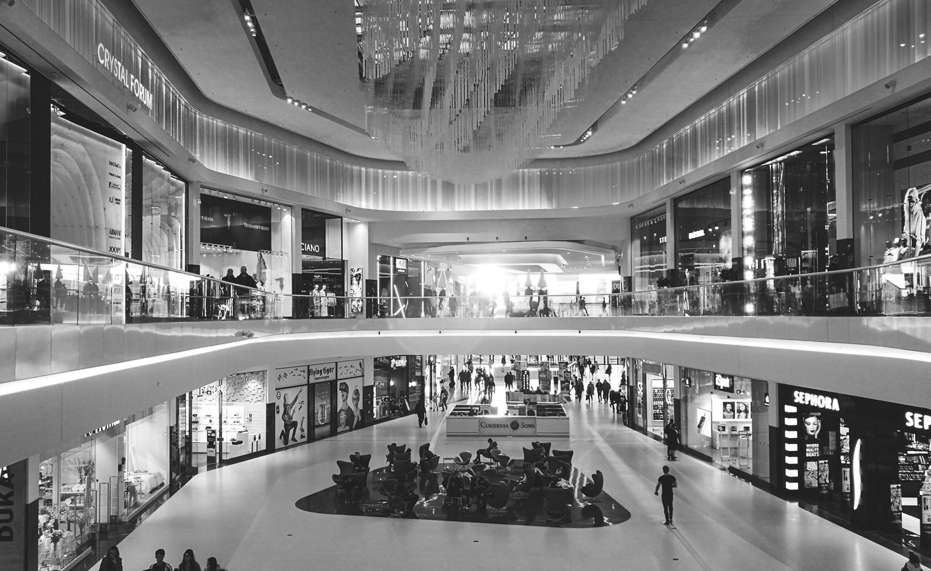 Mall/Shopping Centre - Recordings - Royalty Free And Free To