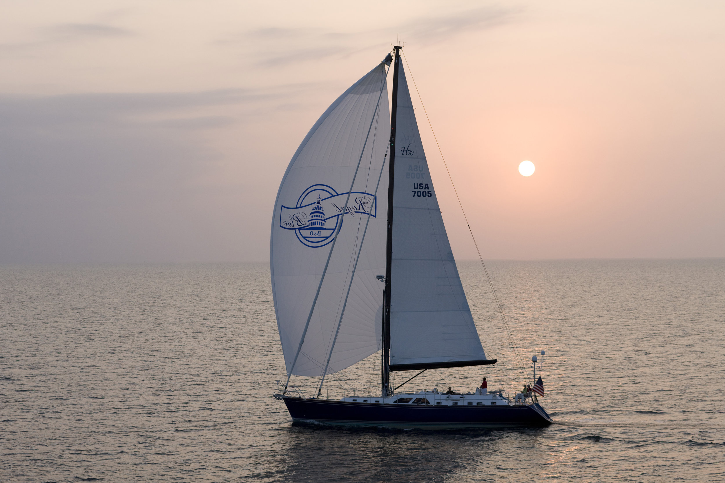 Royal Blue  - Hylas 70 - GMT Carbon Mast and PowerFurl Boom