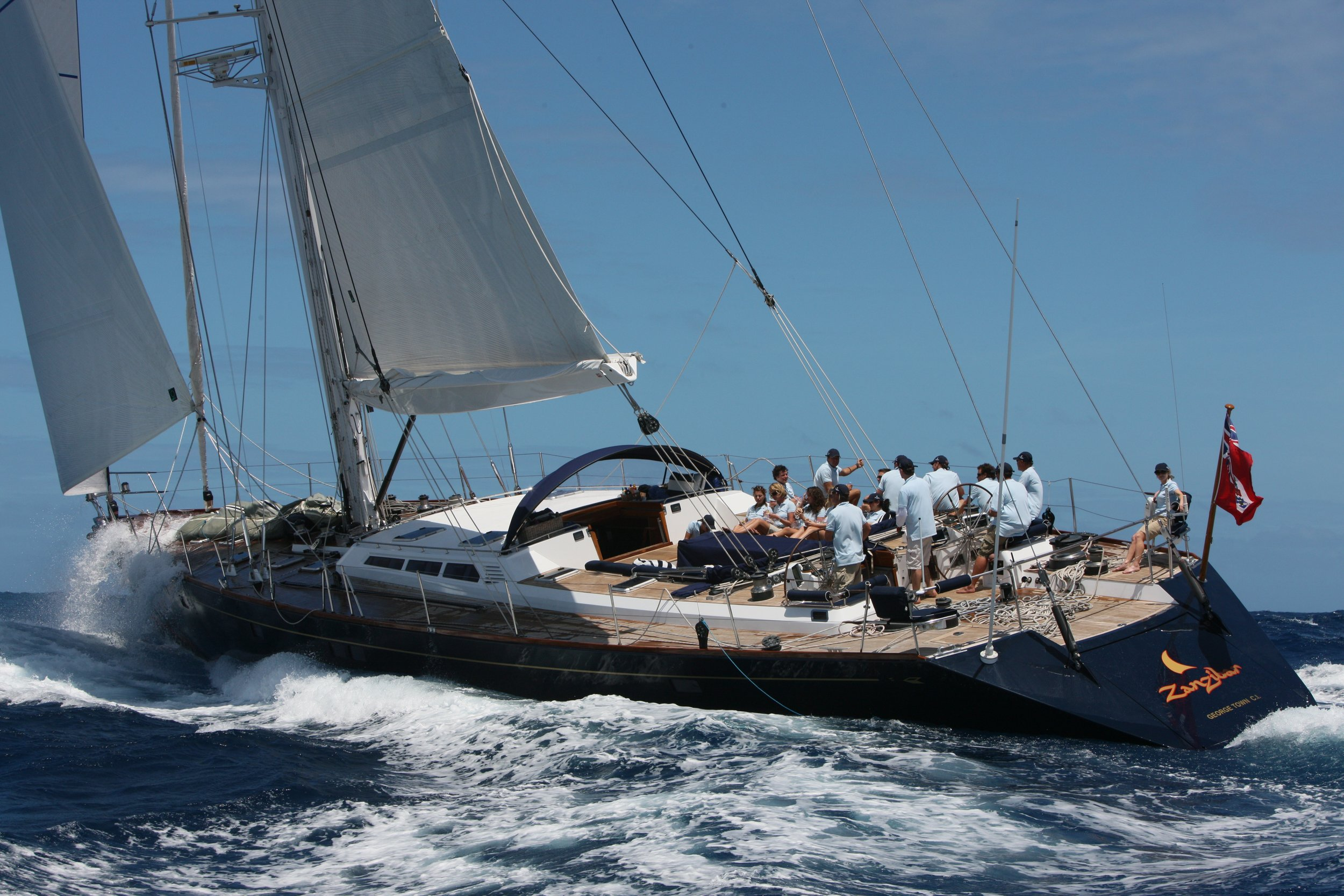 Zanzibar  - 103' Gilles Vaton Design, GMT Carbon Pocket Boom