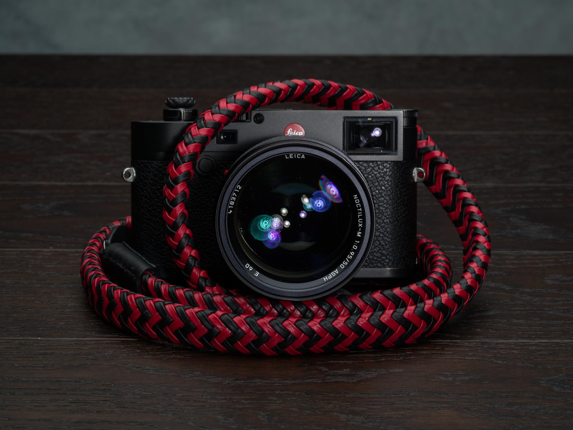 Vi Vante Matador Phoenix Braided Luxury Leather Camera Strap Leica M10 Noctilux 3.jpg