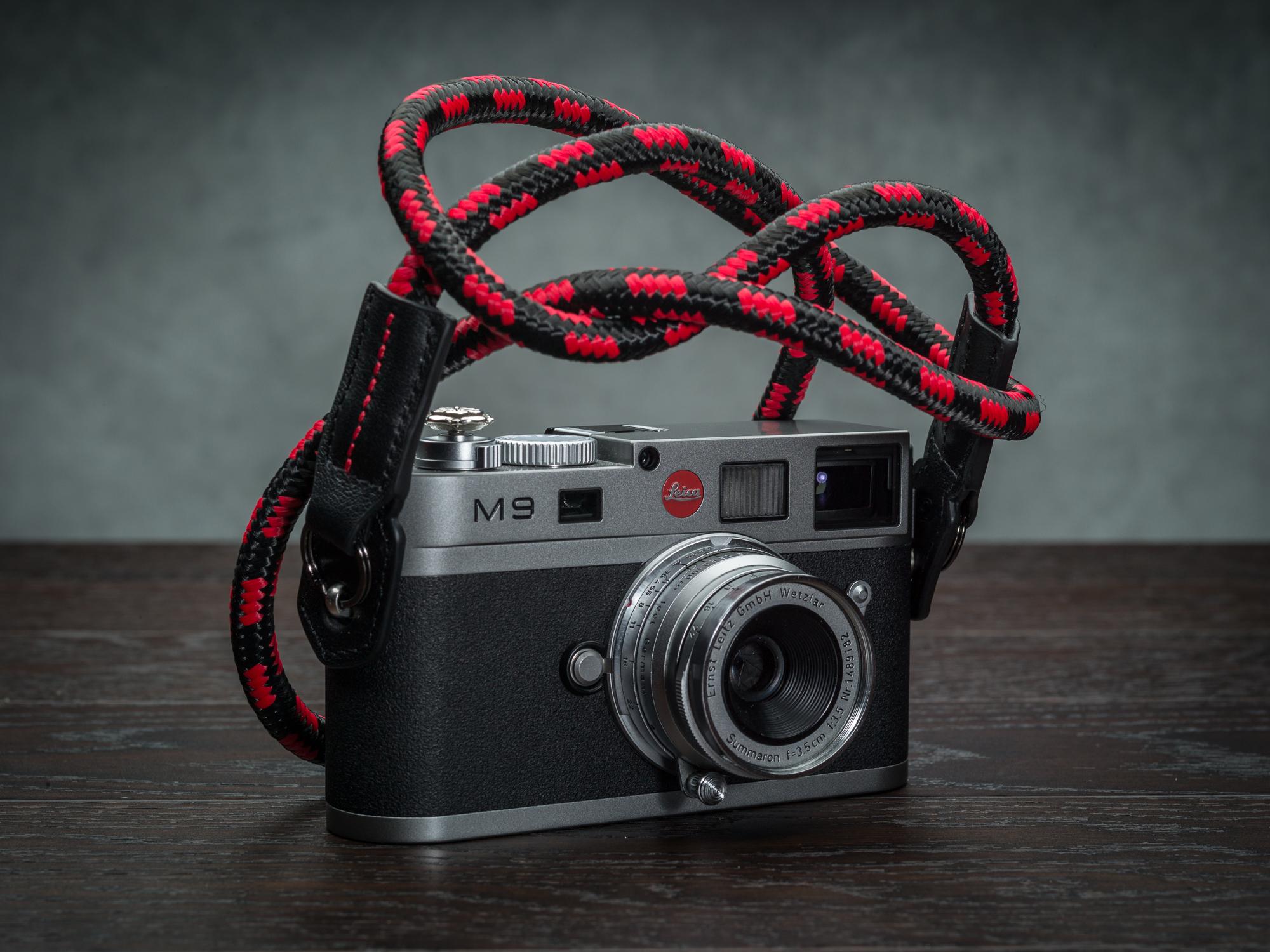 Vi vante Cliff Hanger Rope Strap Camera Strap Leica M9 1.jpg