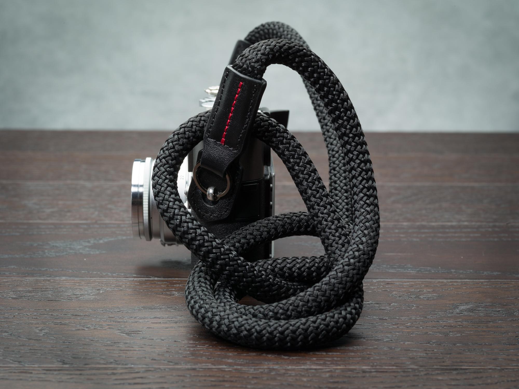 Vi vante black sheetline rope camera strap Leica M9 Calibre Bag  3.jpg