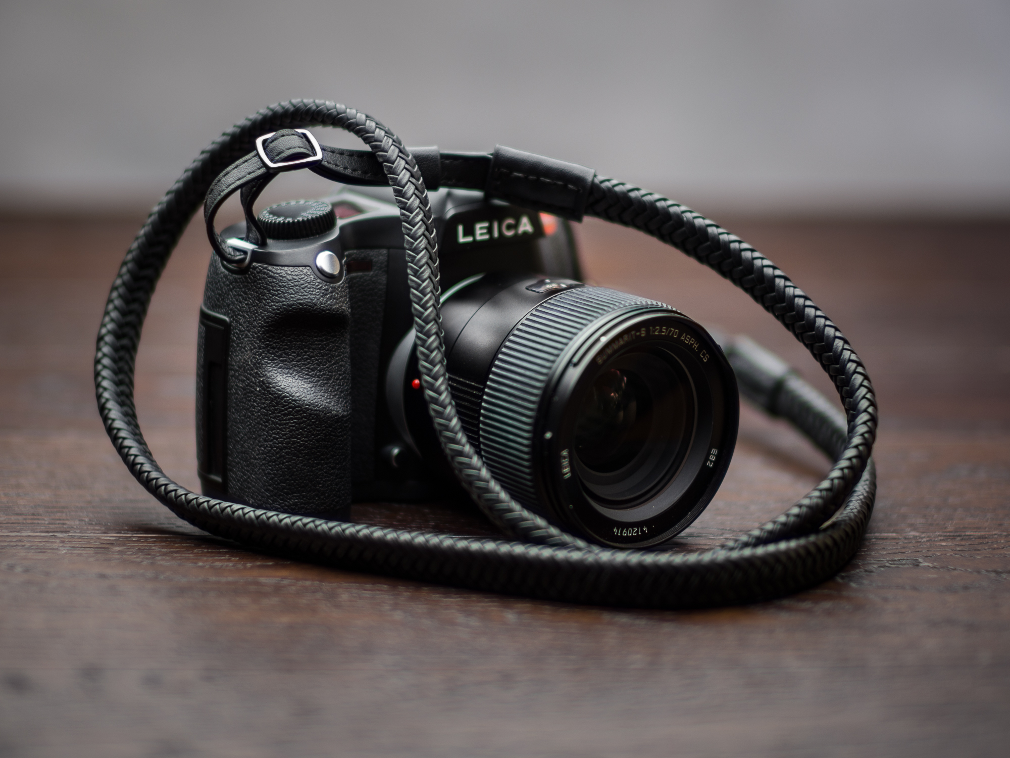 Vi vante Matador Leather Braided Camera Strap Leica S SL DSLR 2.jpg