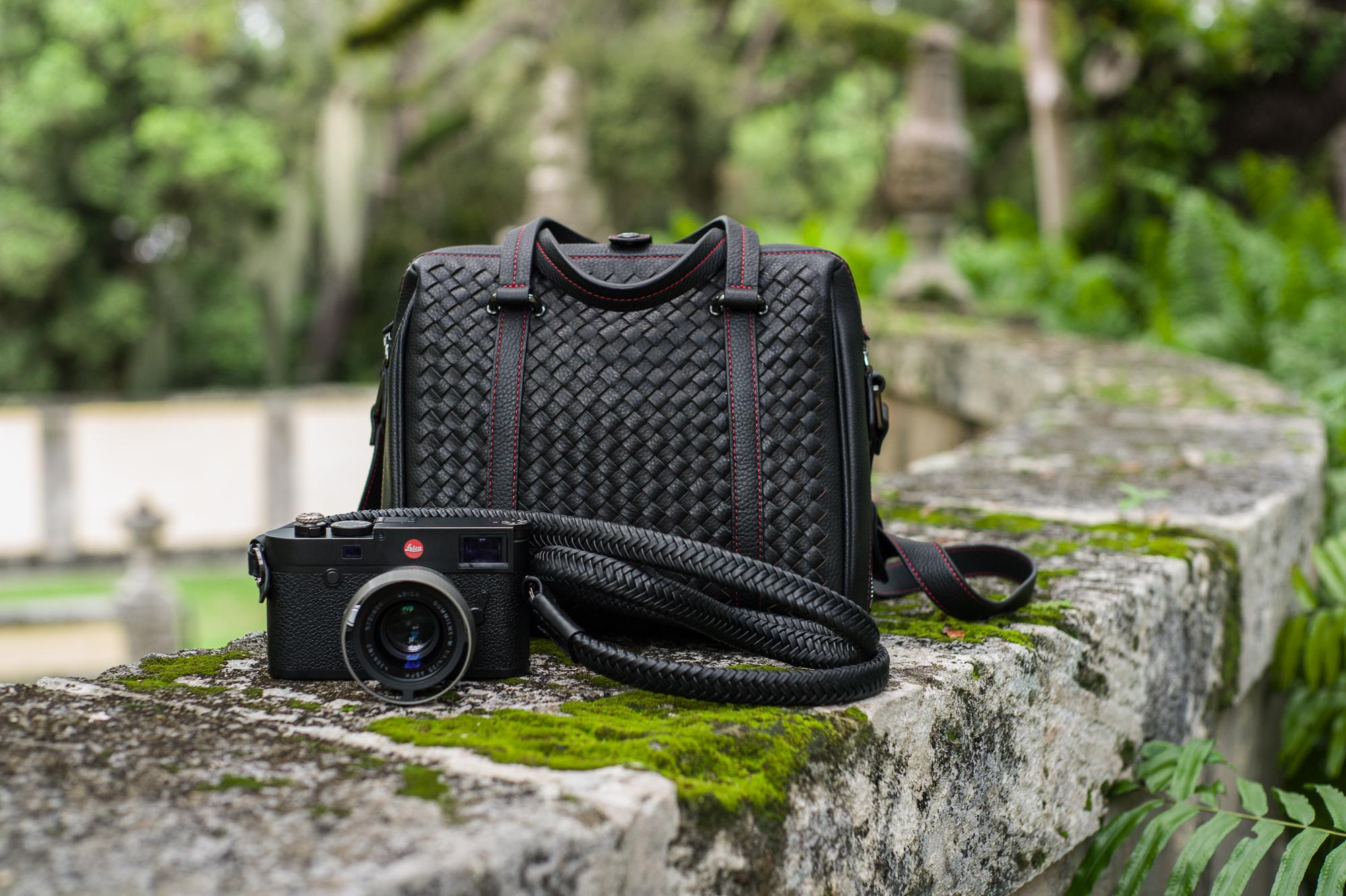 Vi Vante calibre bag Matador Noir braided leather 4 camera strap leica m10 summilux.jpg