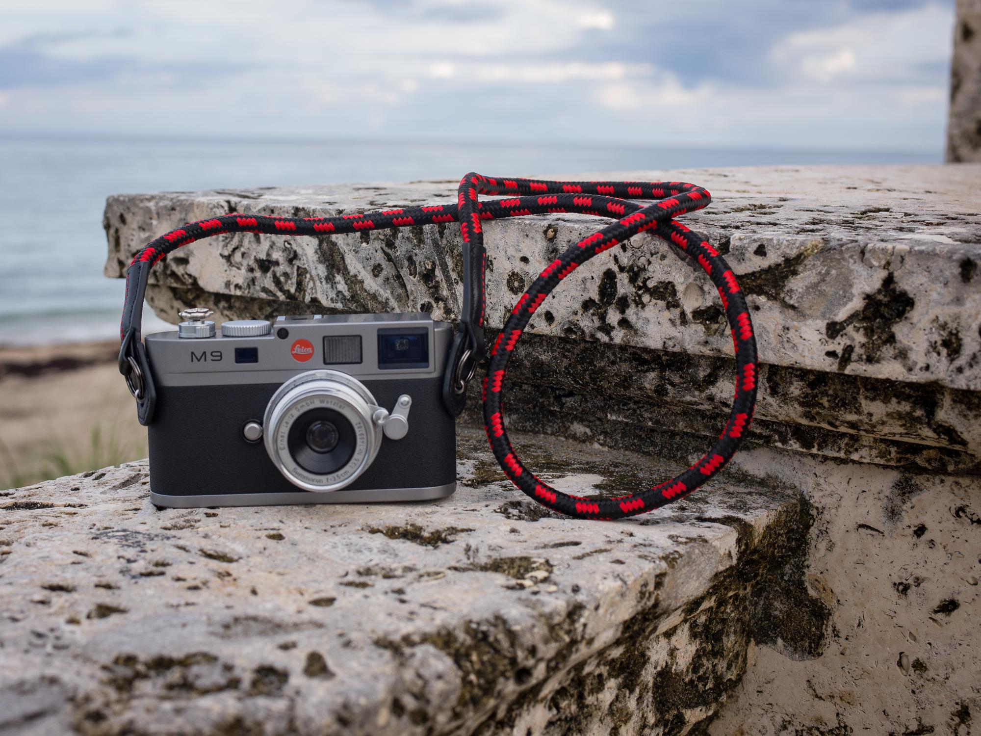 Vi Vante Cliffhanger rope camera strap leica m9.jpg