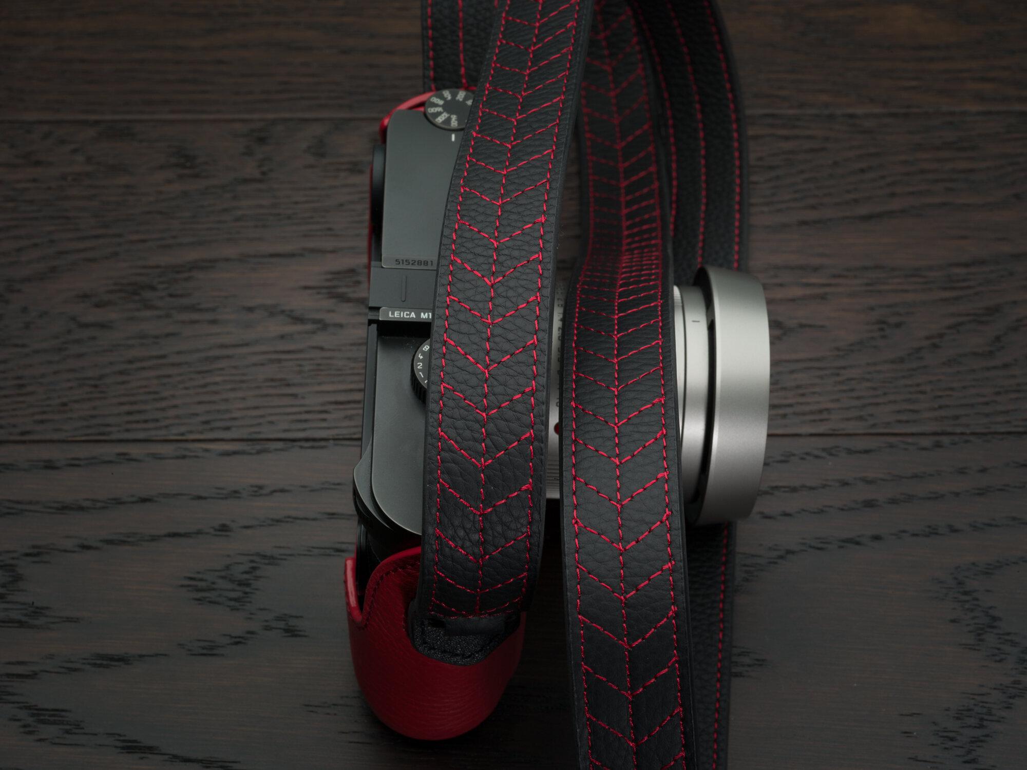 Vi Vante Tread Classic Leather Camera Strap Leica M10 8.jpg