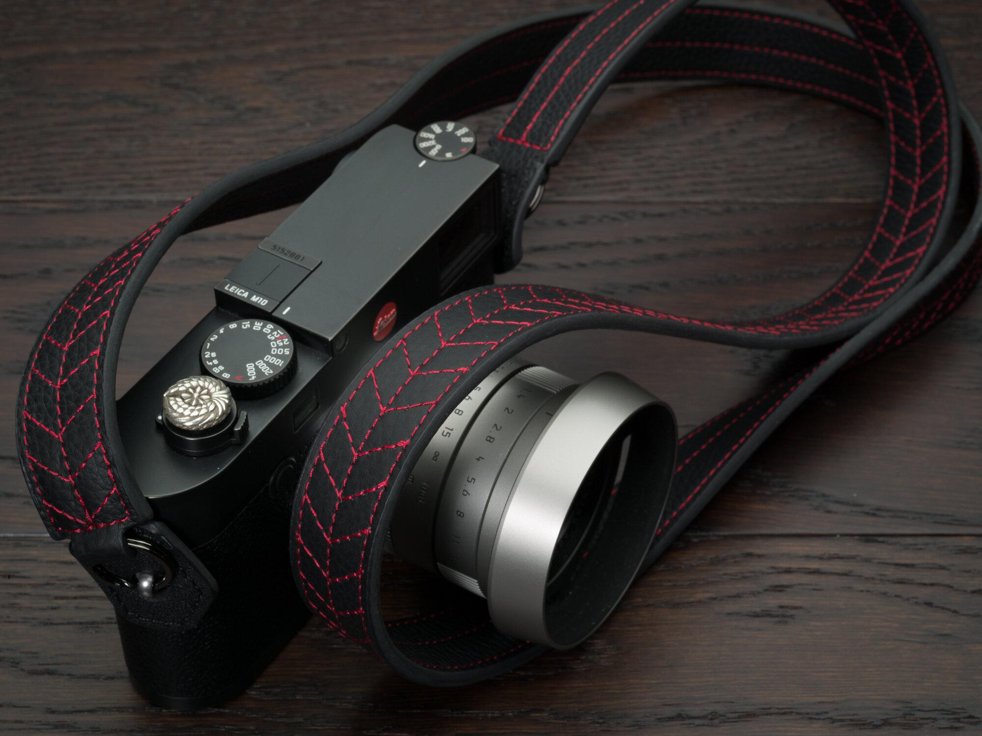 Vi Vante Tread Classic Leather Camera Strap Leica M10 9 garuda.jpg