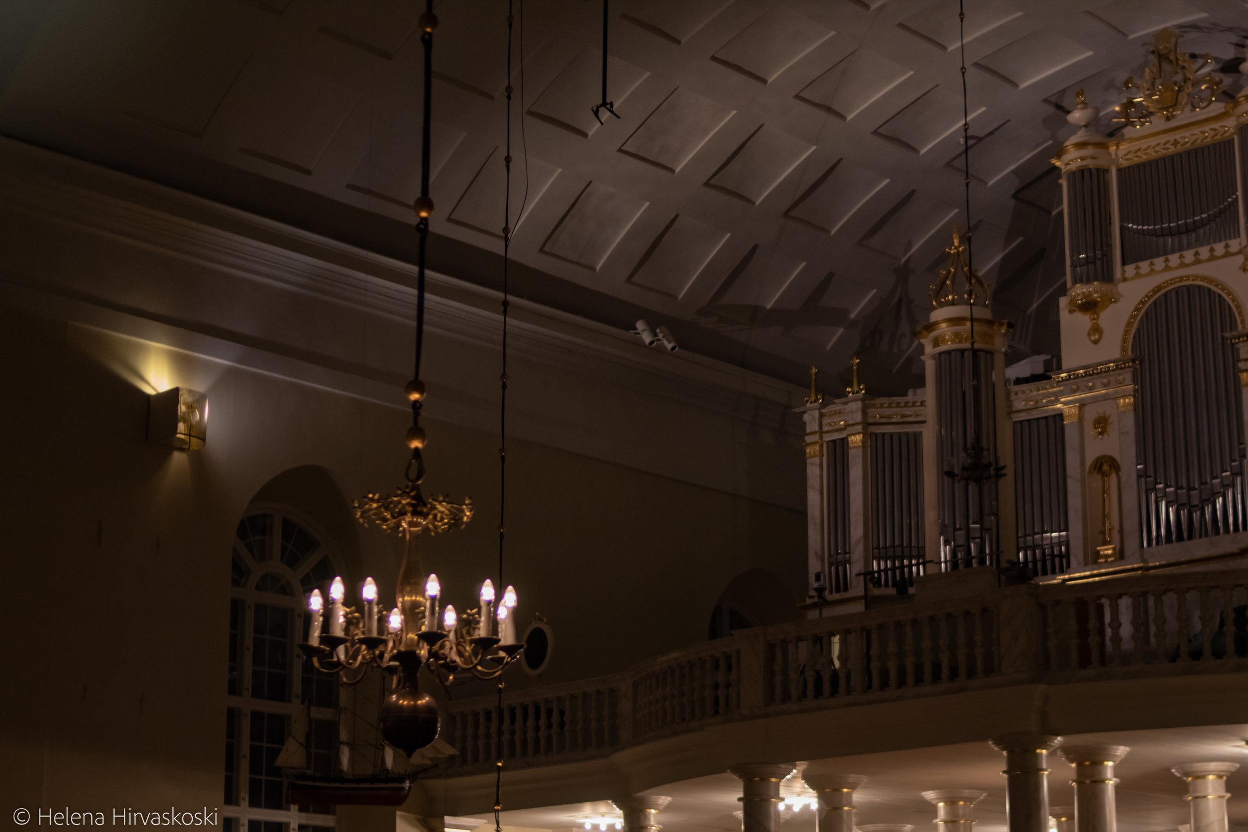 Oulun tuomiokirkon konsertti