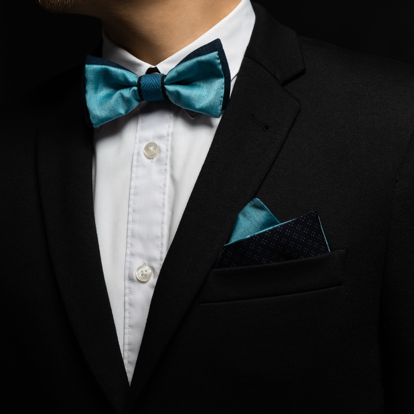 Accessorize it - with pocket square!