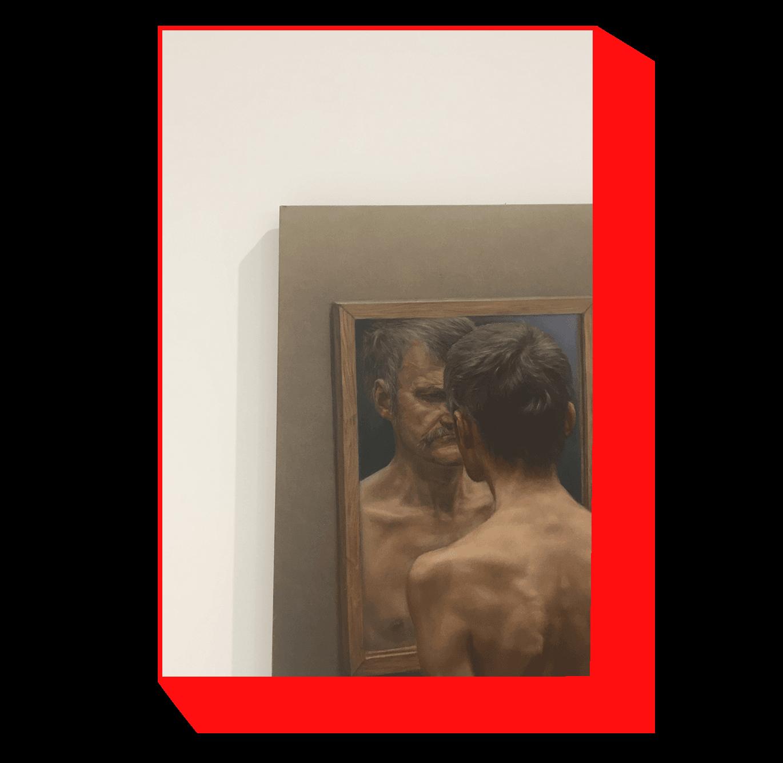 Paulius Juška, Two or a Mirror, 2005