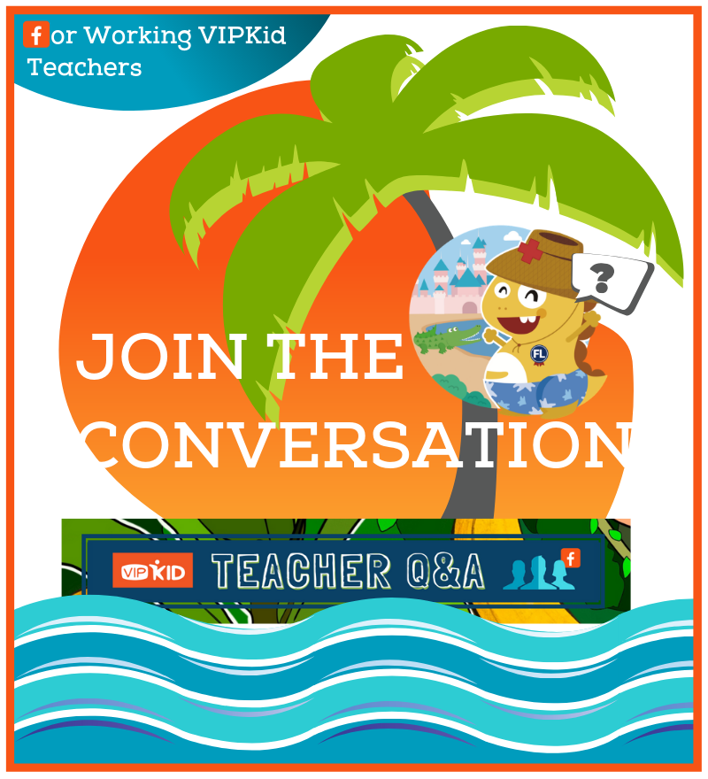 Join the VIPKid Discussion on Facebook ..