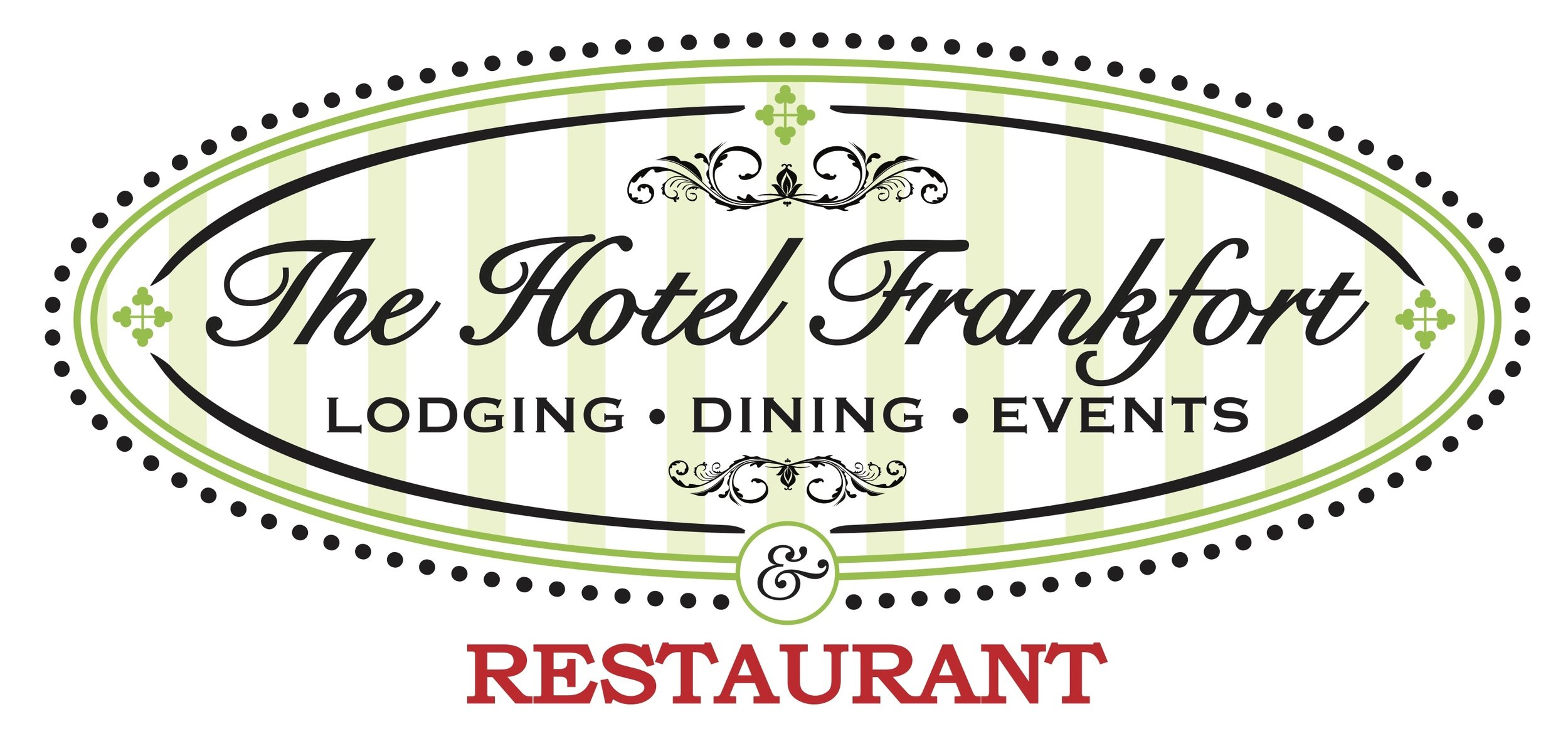 231 Main Street, Frankfort     3-Course Menu for One - $15    First Course  - Small Salad   Second Course  - Choice of One Entrée: Pot Pie, Meatloaf, Fried Chicken, or Pork Steak   Third Course  - House Dessert