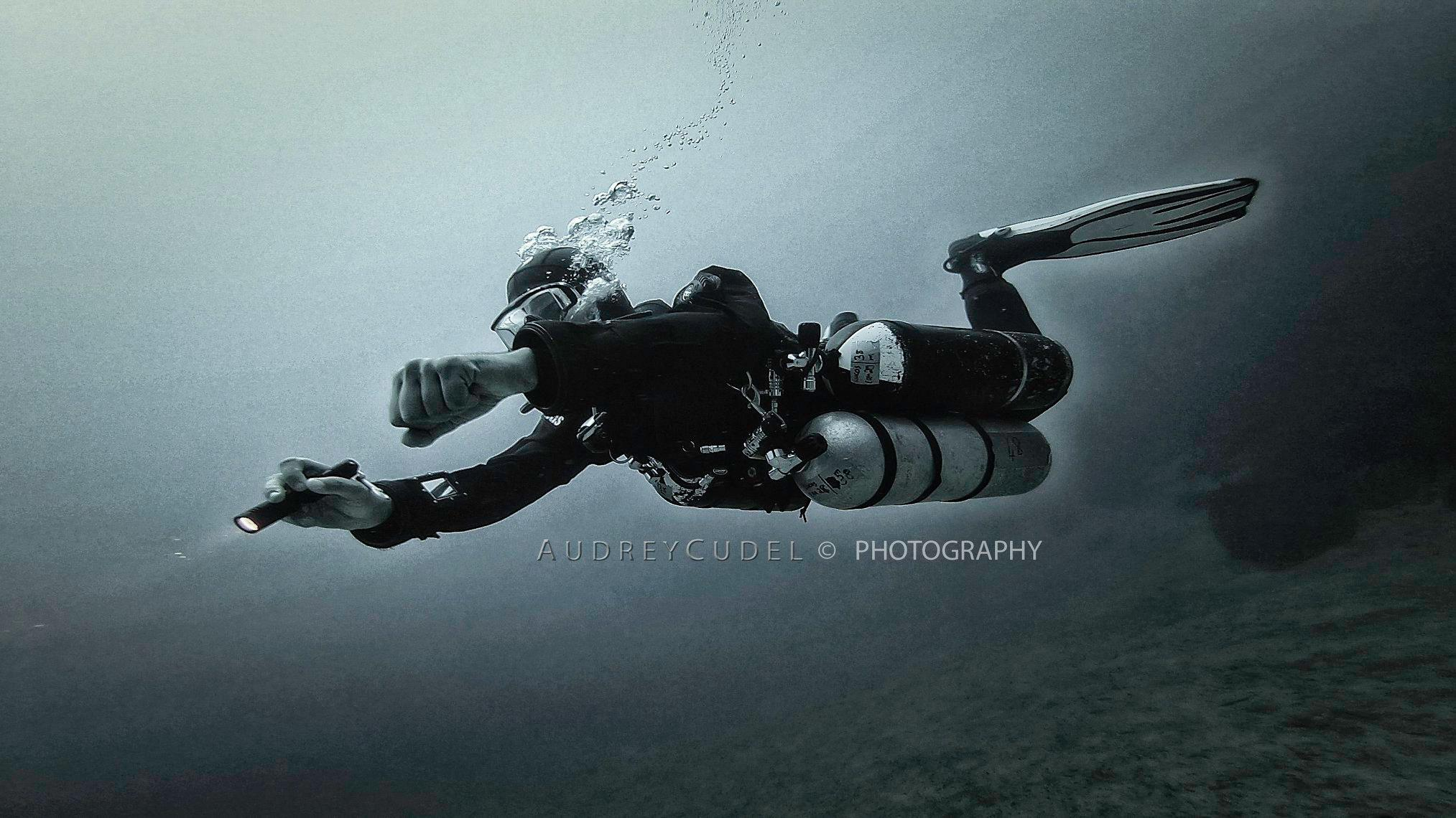 - Lucas (Dive Master) SM & Tech SM Courses, 2018'Audrey really elevated my sidemount and tech diving skill-set to whole new level. Her elite training, patience, honesty, no-corner-cutting, and incredible level of experience (I could listen to her cave stories for hours) combined to accelerate me rapidly and confidently through the tech diving wormhole into the darkside. On top of being a diving guru, she is just about the most like-able person you will ever meet. I could never recommend her enough!'