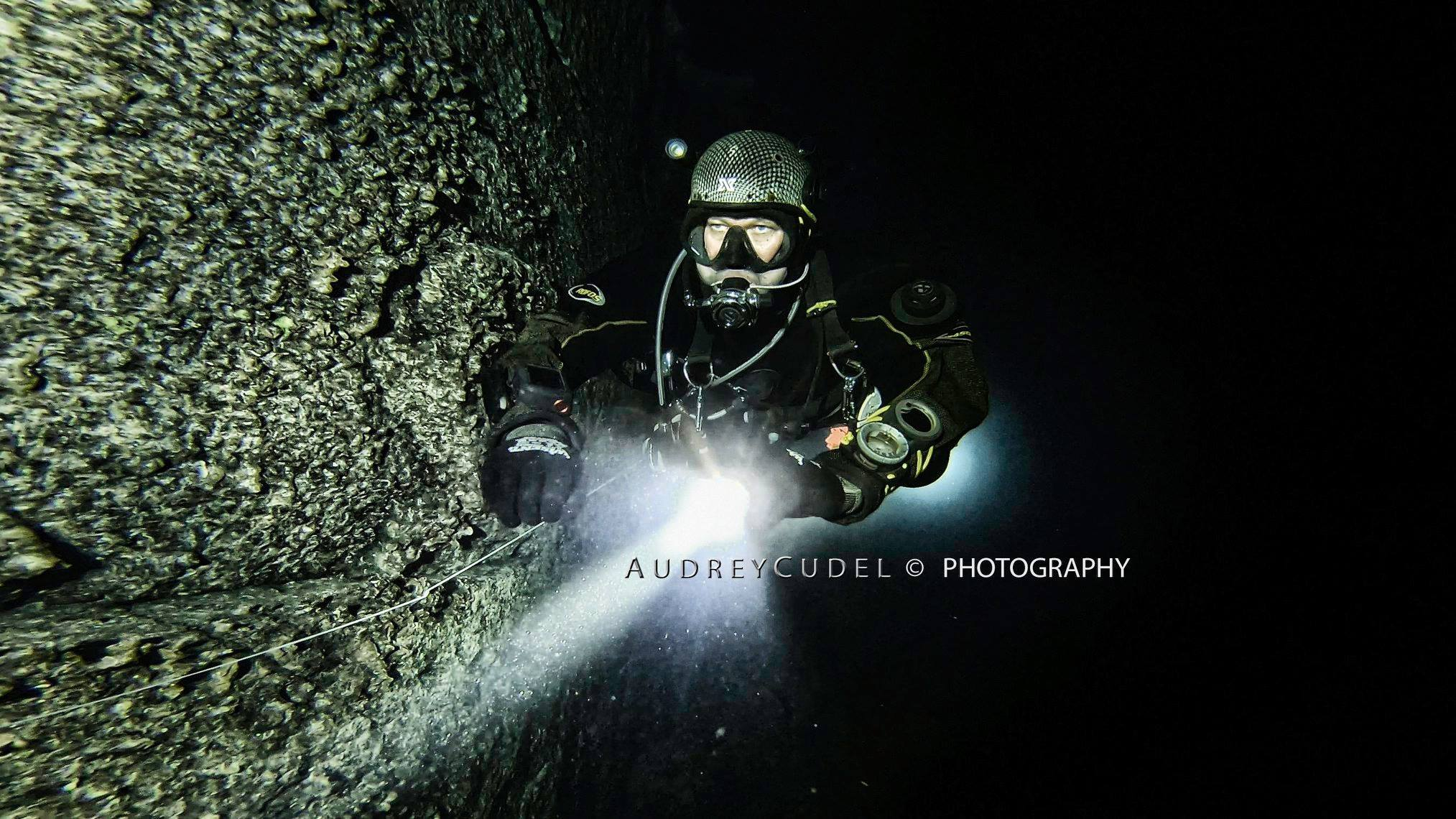 - Yorn (Diver) Cavern & Intro to Cave Courses, 2017 'When i did my Cavern & Intro to Cave with Audrey she guided me into a whole new world of diving. demanding, unforgiving and accepting nothing but perfection she made sure that I can handle any situation in a non-forgiving environment. Her presence, professionalism and French charm are matchless. Like Bootcamp with Ice-Cream. I loved it and can't think of anyone better to bring me to next level.'