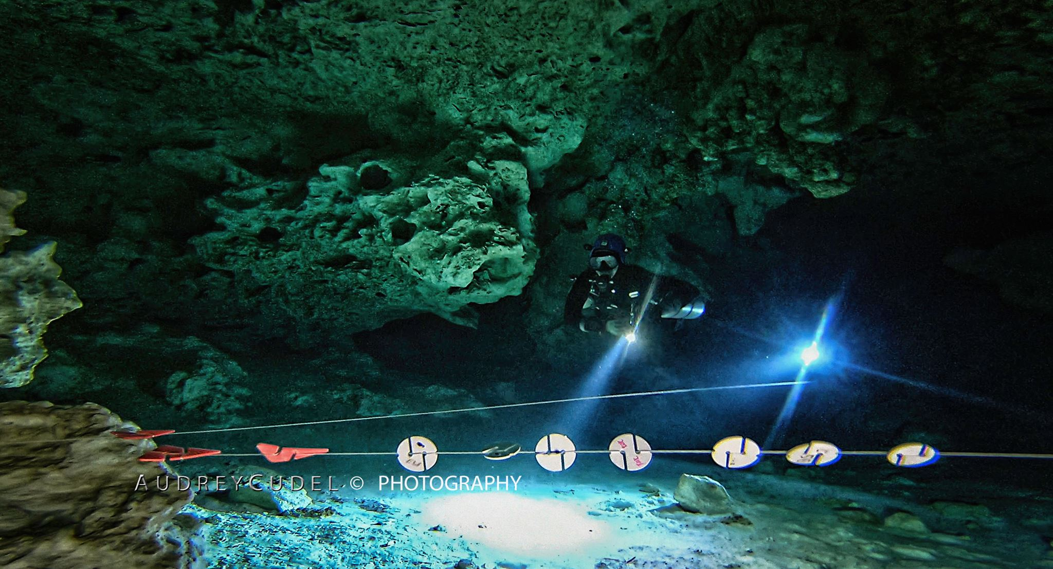 - Emma & Stephan (Tech Divers) SM, Cavern, Intro & Full Cave courses from 2016 on … 'We have been training with Audrey (Gozo Technical Diving) for a couple of years now (Intro to Cave, Side Mount and then Full Cave). We both feel really lucky to have learnt so much from someone who clearly knows all things cave and side mount. Personally she has massively improved my confidence in the water. Training has been hard work (as it should be!) but we also had a lot of fun and Audrey has become a friend to both of us. She always goes the extra mile to help us out and takes absolutely amazing photos, which we always look forward to seeing at the end of the day. We can not speak highly enough of both Audrey and Gozo Tech...so much so that we have recommended her to all our diving friends in the UK 😊 '