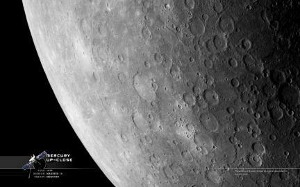 Wallpaper: Mercury Close Up