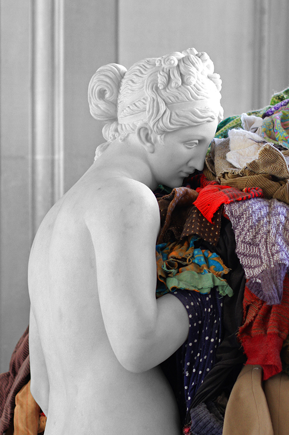 Venus of the Rags, 1967 by Michelangelo Pistoletto   Via Flickr
