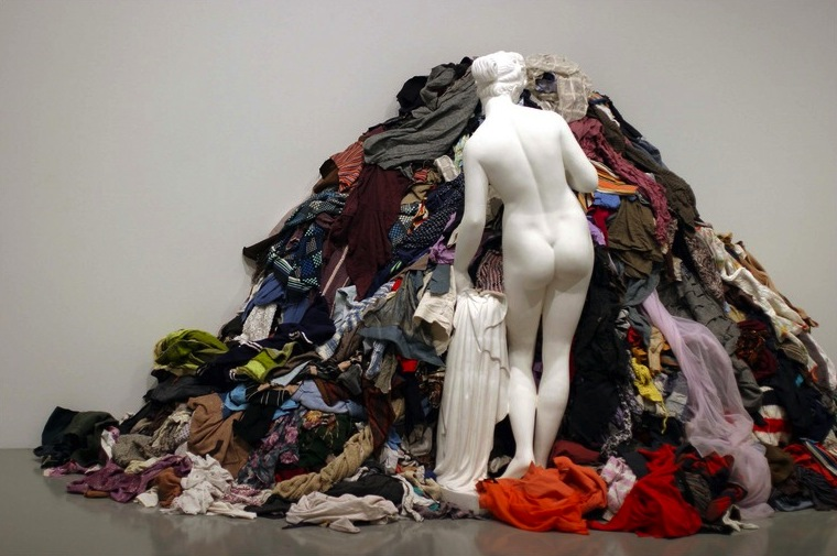 Venus of the Rags, 1967 by Michelangelo Pistoletto | Via Flickr
